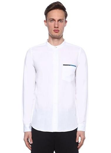 PS by Paul Smith Hakim Yaka Uzun Kollu Gömlek Beyaz